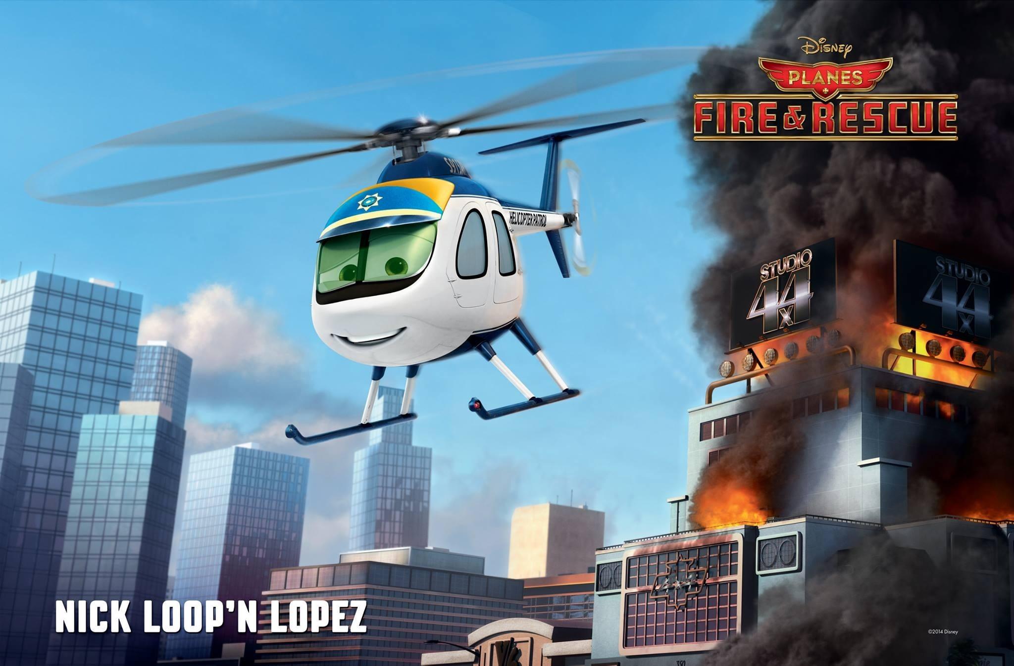 Pixar Disney Planes mission canadair Nick