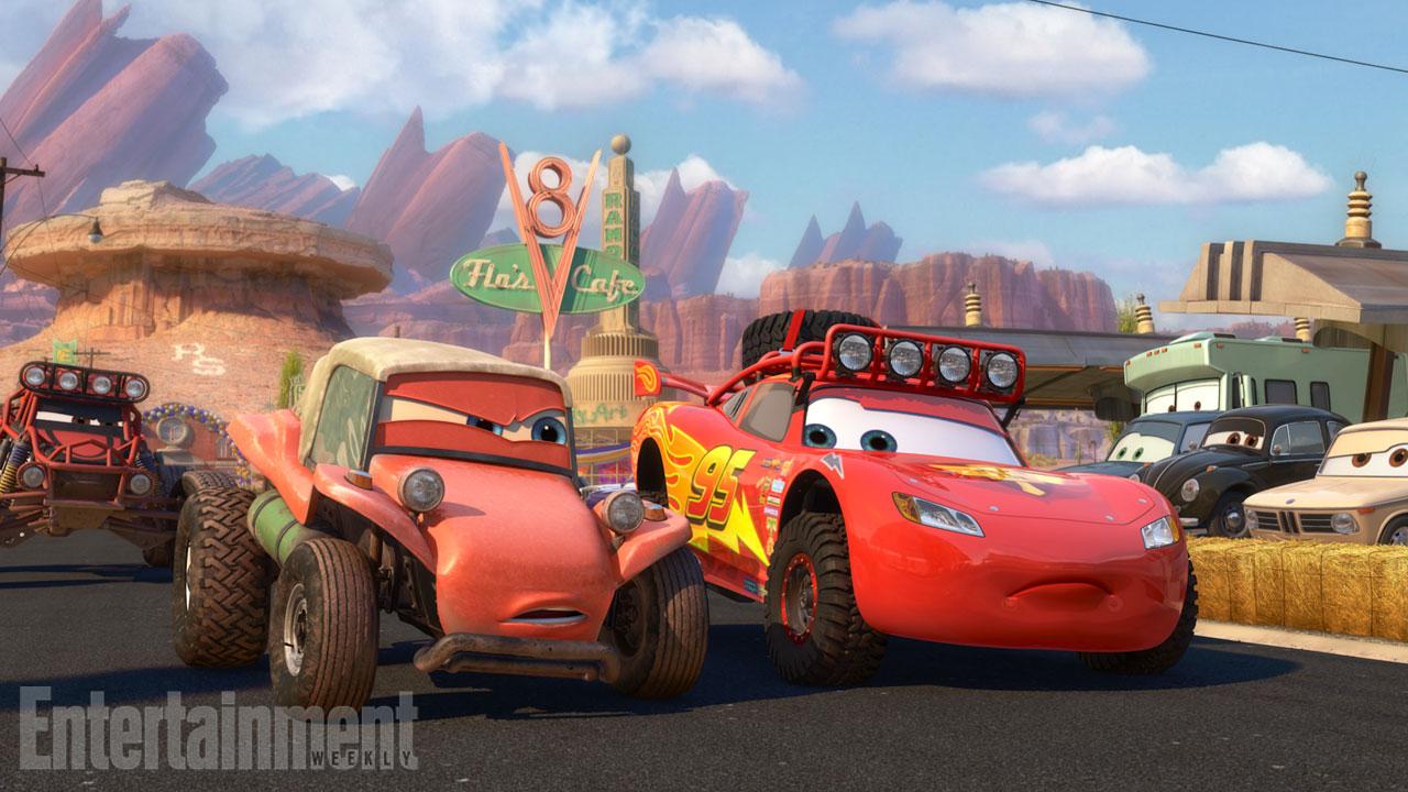 Pixar DIsney Cars Radiator Springs 500 1/2 contes tales miles