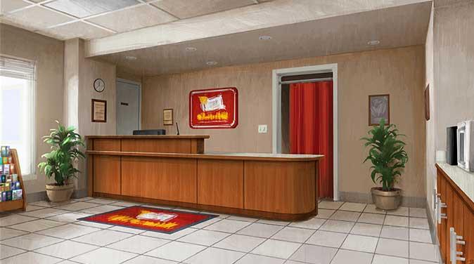 Pixar Disney Toy Story Angoisse au motel Terror Artwork