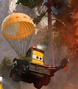 Pixar Disney Planes mission canadair Blackout