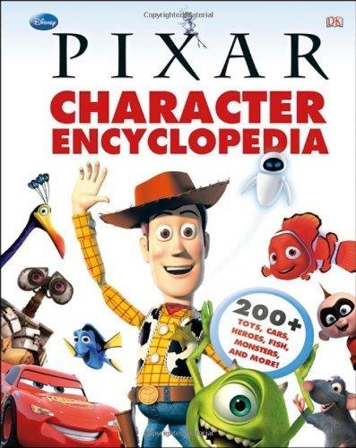 character encyclopedia Livre Disney Pixar Book