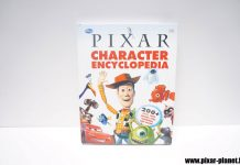 Pixar Disney livre book character encyclopedia