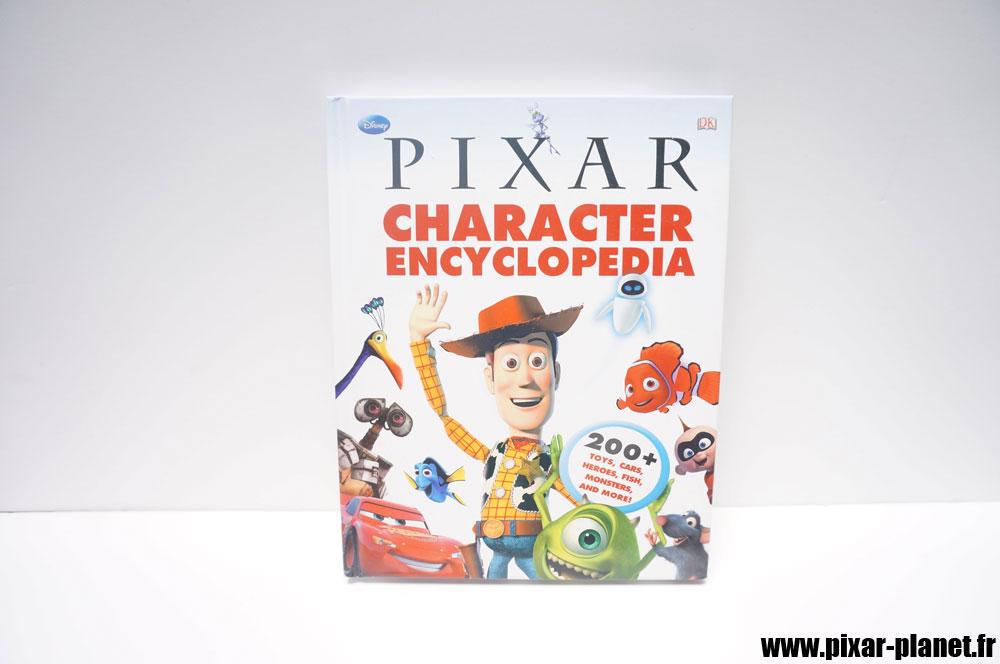Pixar Disney livre book character encyclopedia