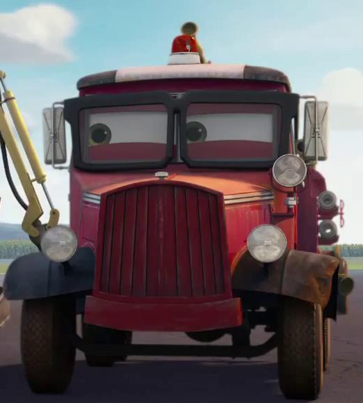 Pixar Disney Planes mission canadair Mayday