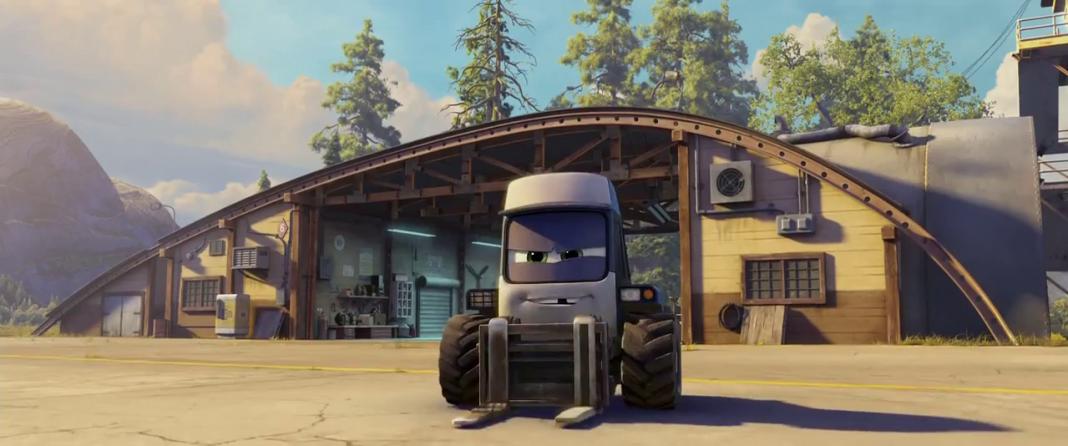 Pixar Disney Planes mission canadair Ryker