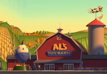 Pixar Disney Al la ferme aux jouets toy barn