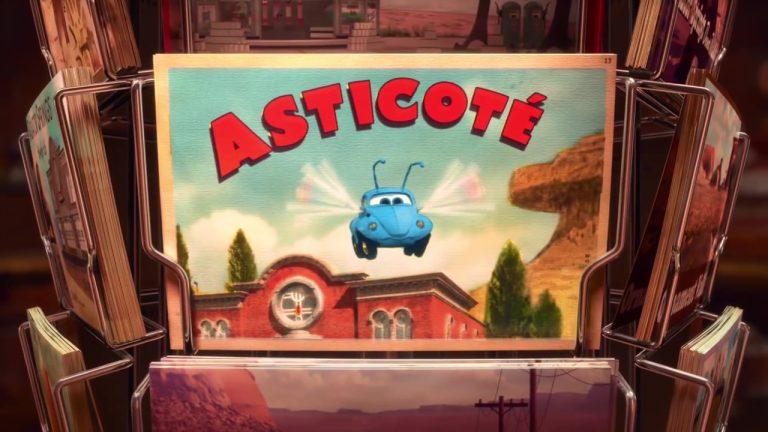 Asticoté – Les Contes de Radiator Springs.