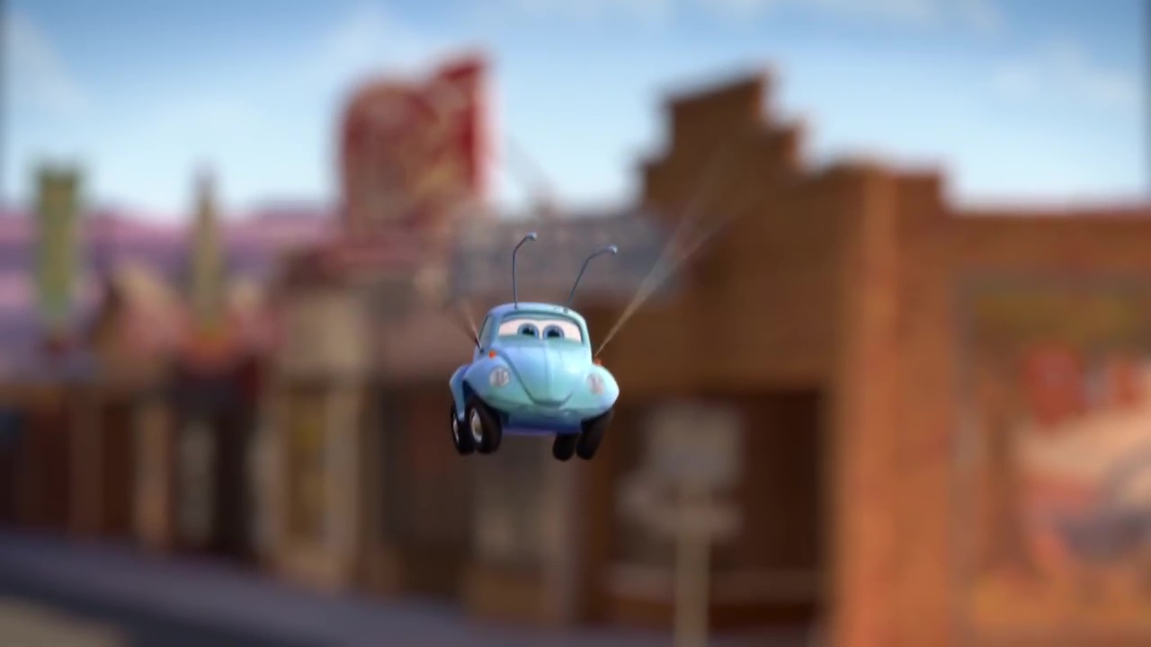 pixar disney tales contes radiator springs asticoté bugged