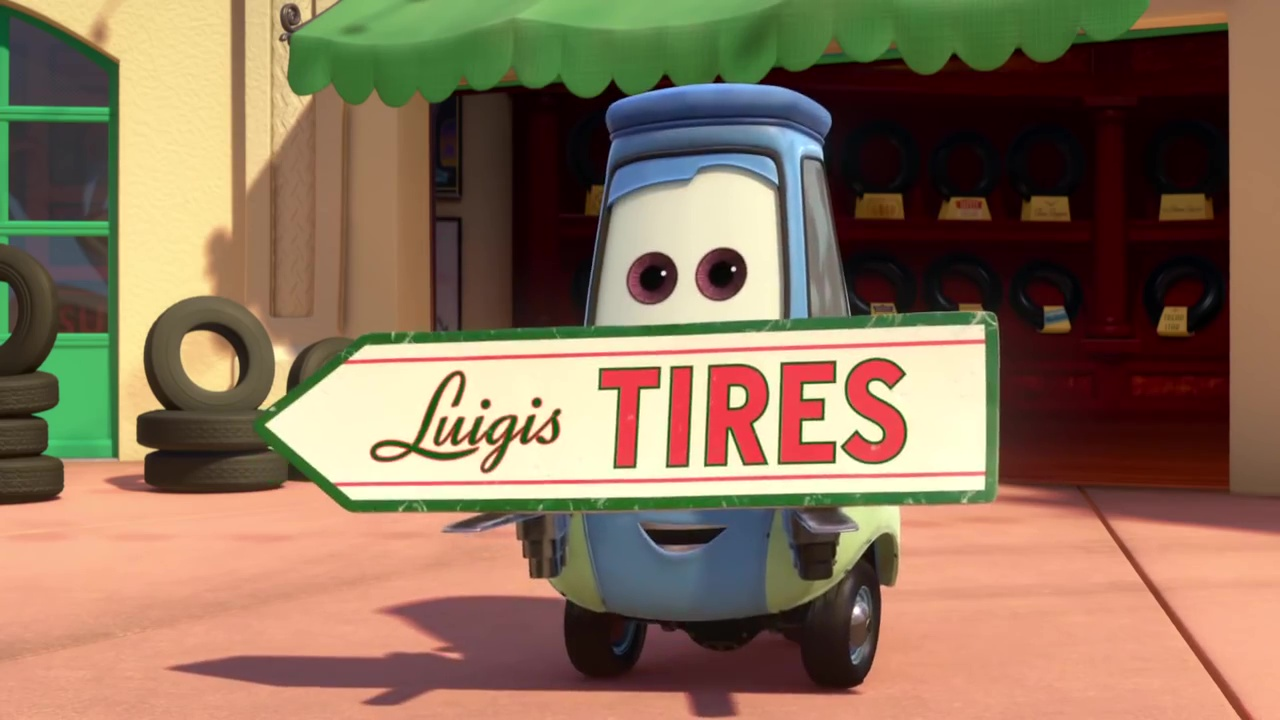 pixar disney tales contes radiator springs ca tourne spinning