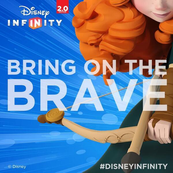 Pixar disney infinity rebelle brave merida