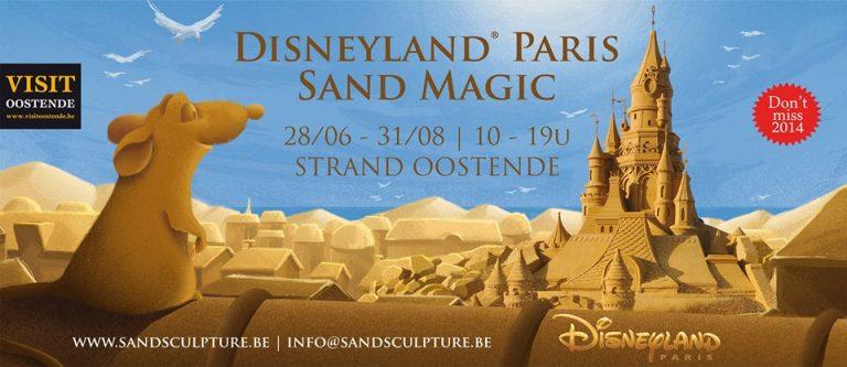 """""""Ratatouille"""" s'invite au Festival de Sculpture de Sable !"""