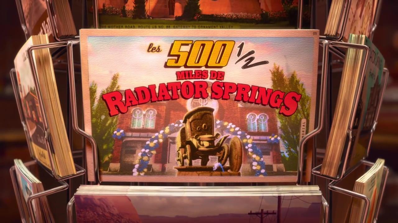 pixar disney tales contes radiator springs 500 miles