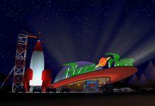 Pixar Disney Pizza Planet