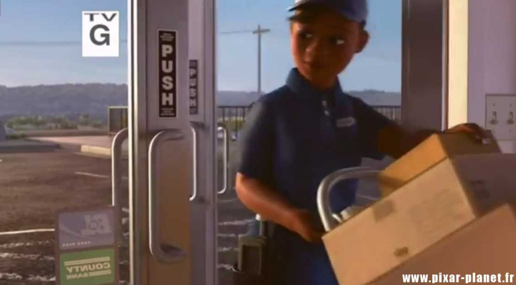 Pixar Disney toy story angoisse au motel clin oeil