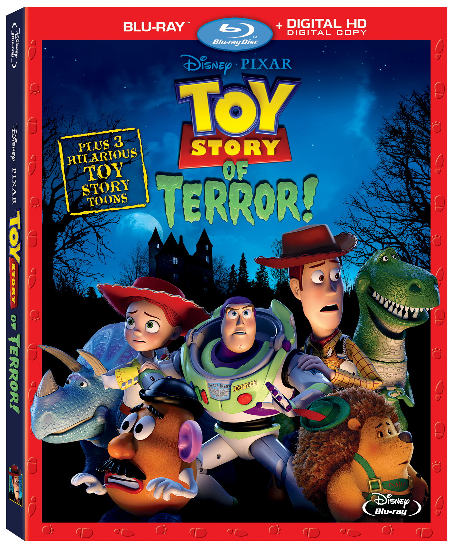 Pixar Disney Toy Story angoisse au motel blu-ray