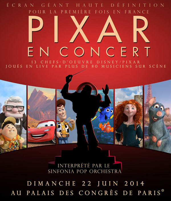 pixar disney concert palais des congrès