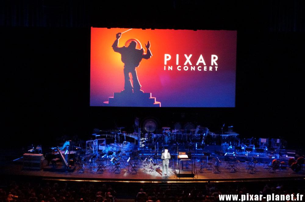 pixar concert Disney paris palais des congrès