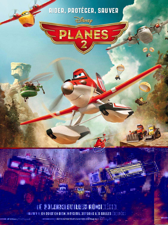 Pixar Disney planes 2 affiche poster