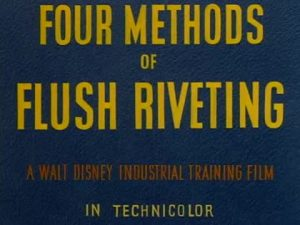 Disney Illustration Four methods of flush riveting