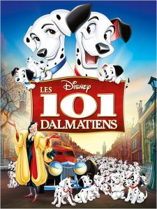 walt disney animation affiche 101 dalmatiens poster one hundred and one dalmatians