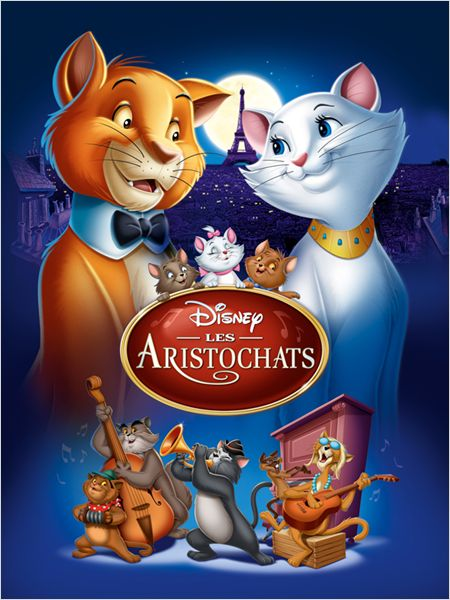 walt disney animation affiche aristochats poster aristocats