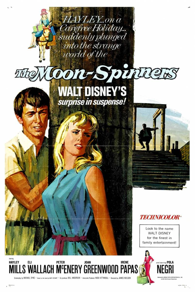 walt disney company walt disney pictures affiche baie emeraudes poster moon spinners