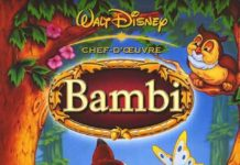walt disney animation affiche bambi poster