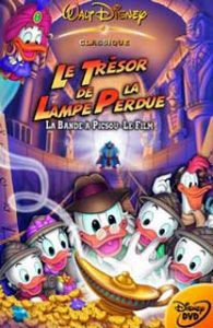 walt disney animation affiche bande picsou film tresor lampe perdue poster ducktales movie treasure lost lamp
