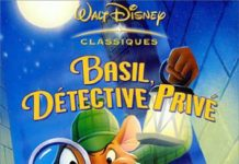walt disney animation affiche basil detective prive poster great mouse detective