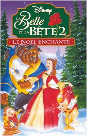 walt disney animation disney toon studios affiche belle bete 2 noel enchante poster beauty beast enchanted christmas