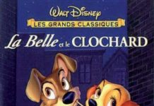walt disney animation affiche belle et clochard poster lady and tramp