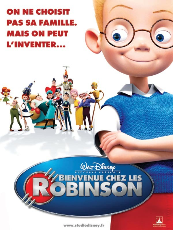 walt disney animation studios affiche bienvenue robinson meet robinsons