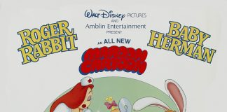 Walt roger rabbit Disney pictures affiche bodon bidon poster tummy trouble