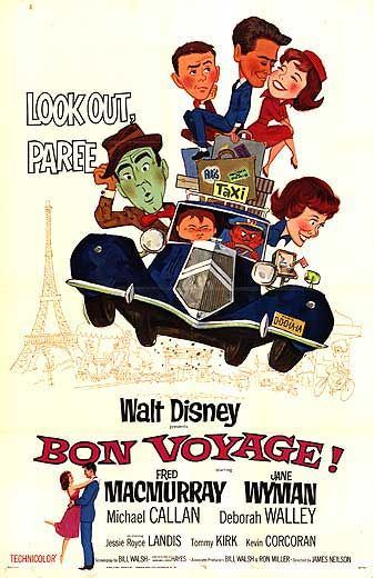 walt disney company walt disney pictures affiche bon voyage poster