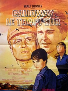 walt disney company walt disney pictures affiche calloway trappeur poster those calloways
