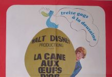 walt disney company walt disney pictures affiche cane oeufs or poster million dollar duck