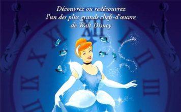 walt disney animation affiche cendrillon poster cinderella