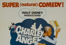 walt disney company walt disney pictures affiche charley ange poster charley angel