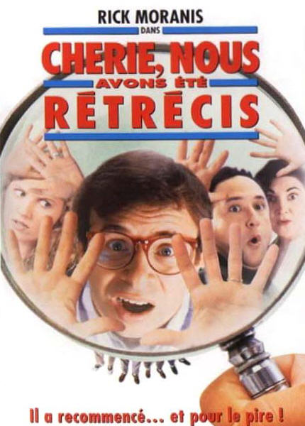 walt disney company walt disney pictures affiche cheri avons ete retrecis poster honey shrunk ourselves