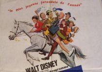walt disney company walt disney pictures affiche cheval sabots or poster horse gray flannel suit