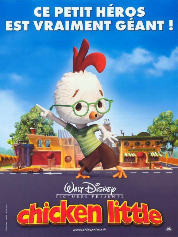 walt disney animation studios affiche chicken little poster