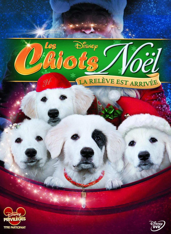walt disney company walt disney pictures affiche chiots noel releve arrivee poster santa paws santa pups