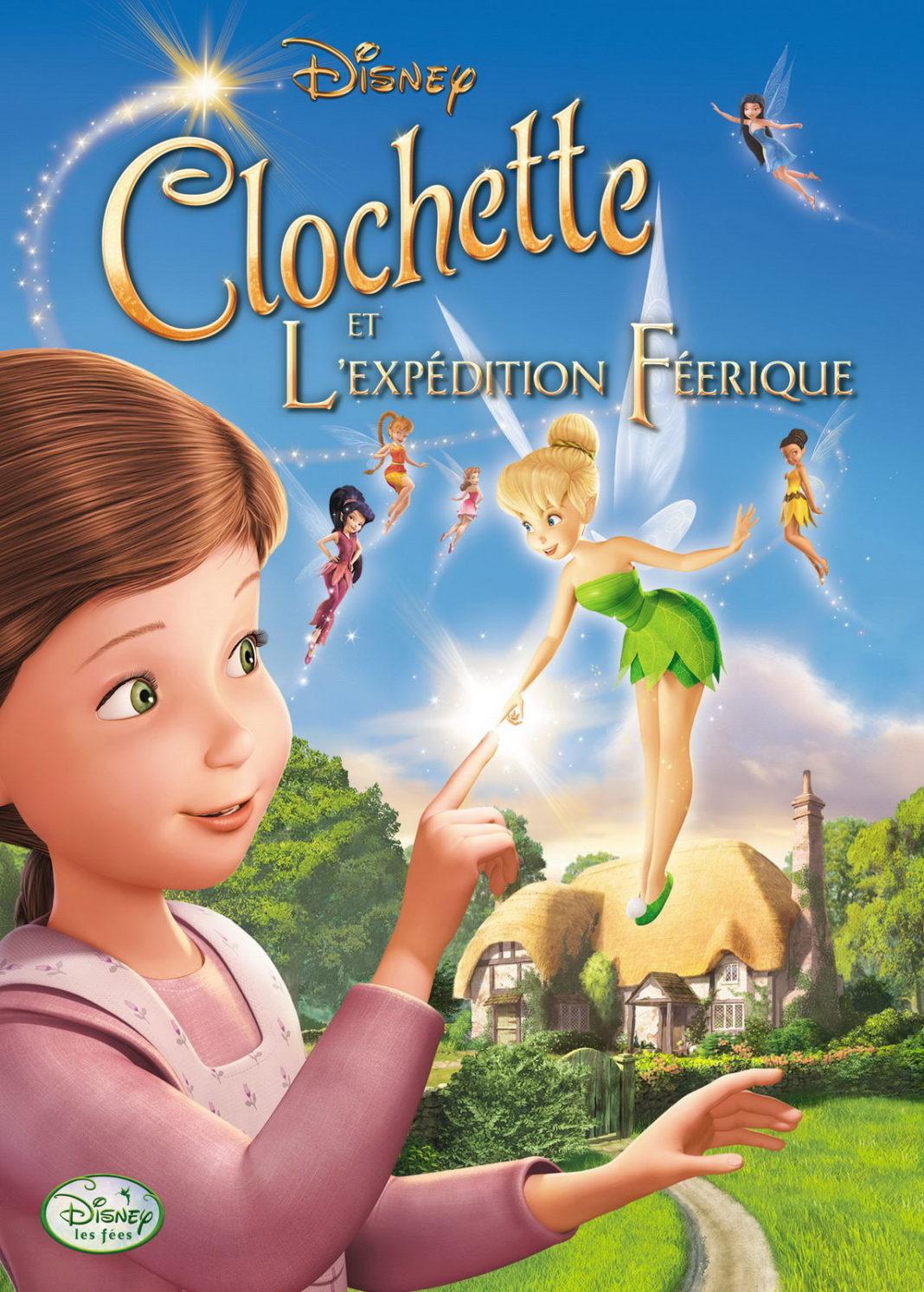 walt disney animation disneytoon studios affiche clochette expedition feerique poster tinker bell great fairy rescue