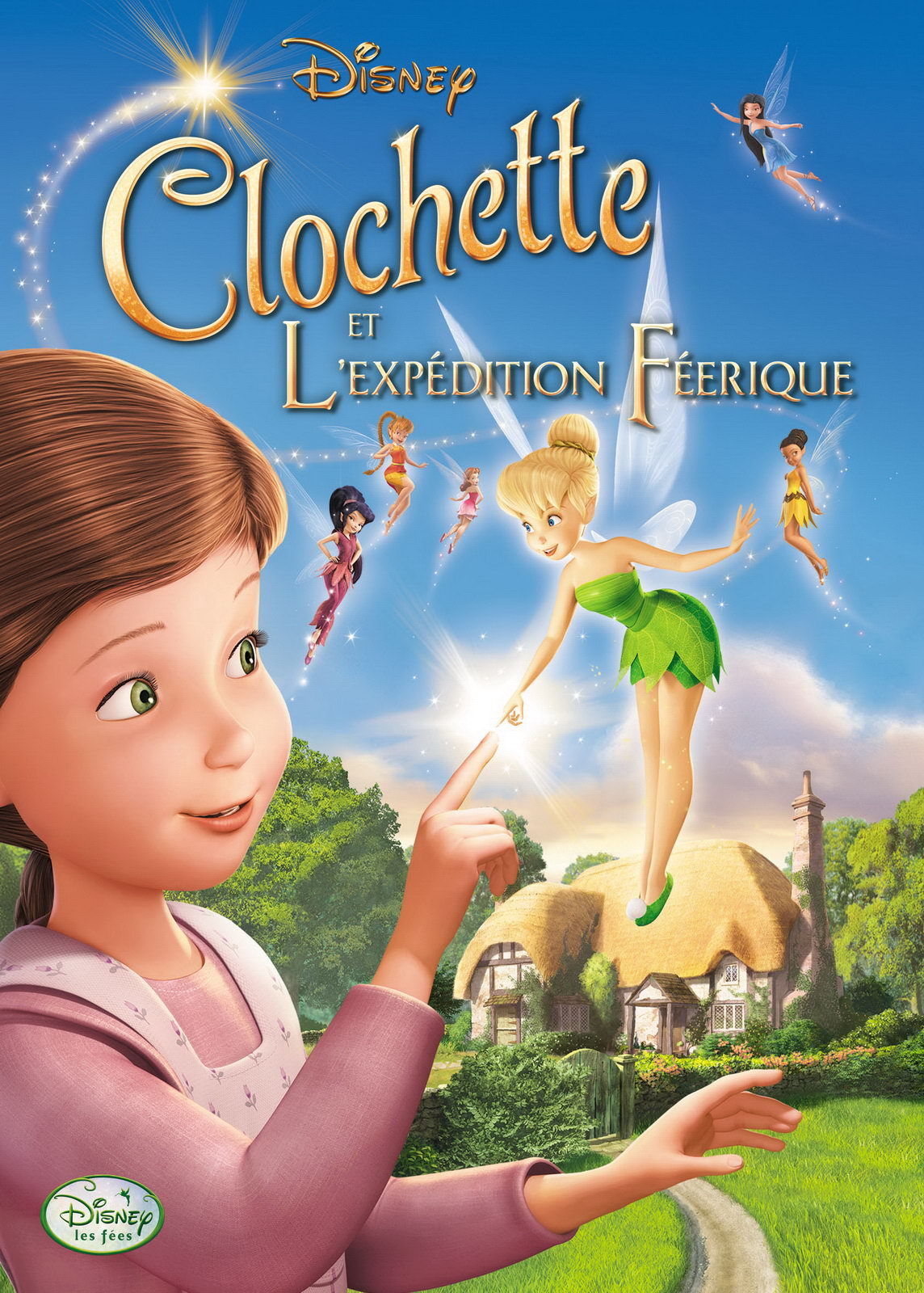 walt disney animation disneytoon studios affiche clochette expedition feerique poster tinker bell great fairy rescue