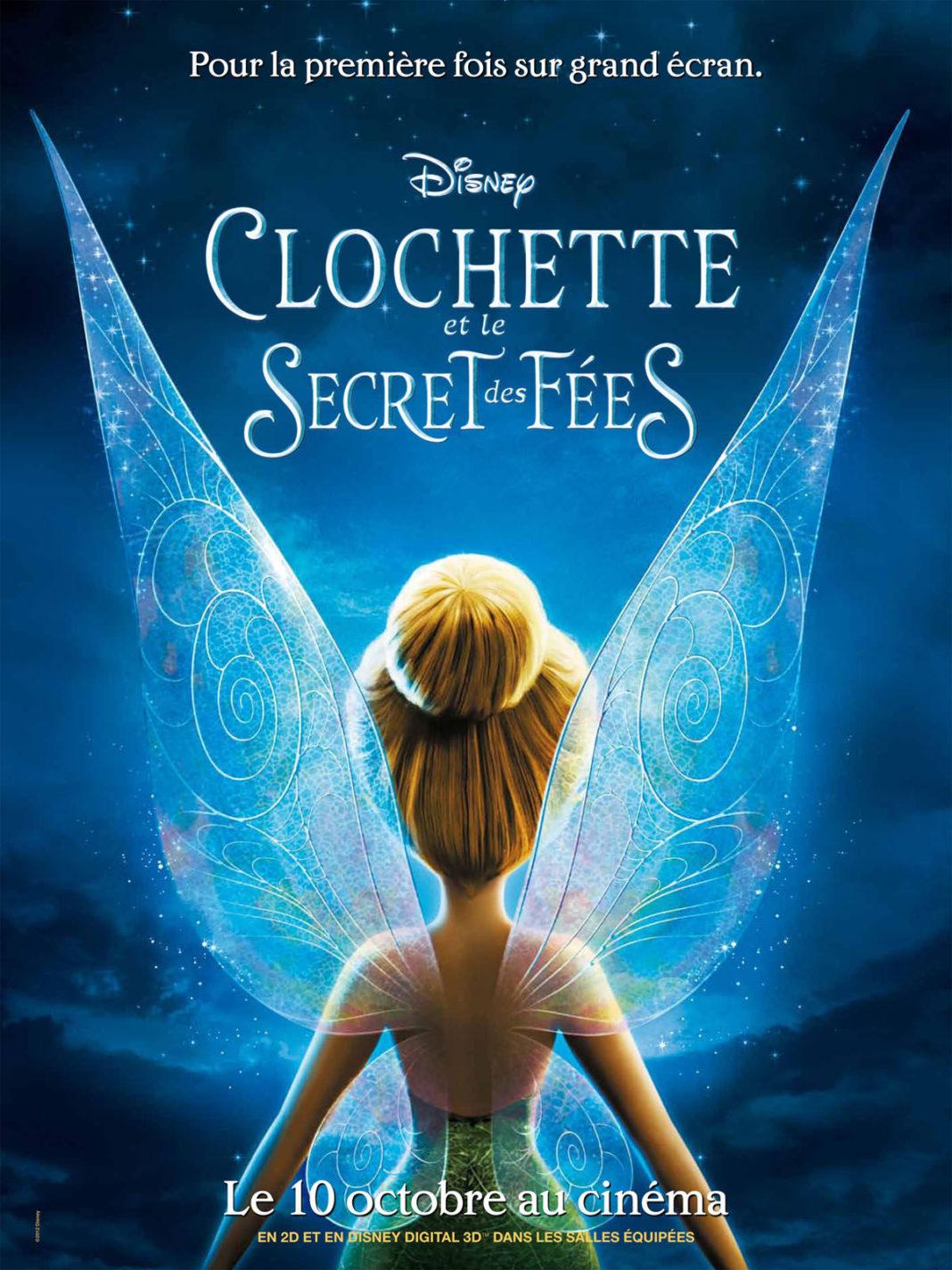 walt disney animation disneytoon studios affiche clochette secret fees poster secret wings