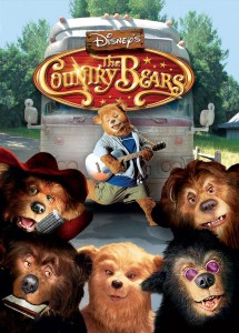 walt disney company walt disney pictures affiche country bears poster