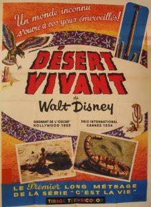 walt disney company walt disney pictures affiche desert vivant poster living desert