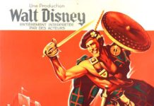 walt disney company walt disney pictures affiche desert vivant poster rob roy highland rogue