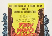 walt disney company walt disney pictures affiche dix audacieux poster ten who dared