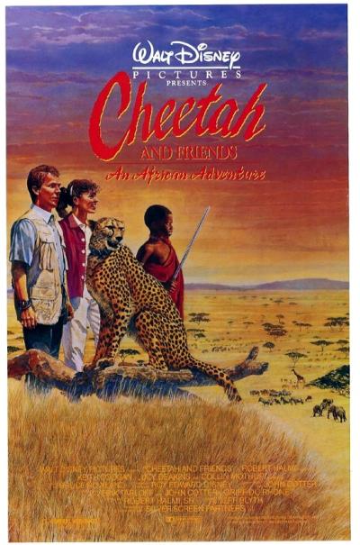 walt disney company walt disney pictures affiche douma amis poster cheetah